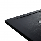 Receveur Clay - Noir Anthracite