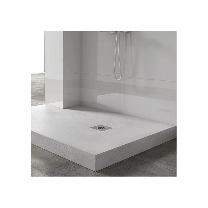 Plinthe de douche - Blanc Polaire