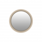 Miroir Rond - Litos Beige Albero