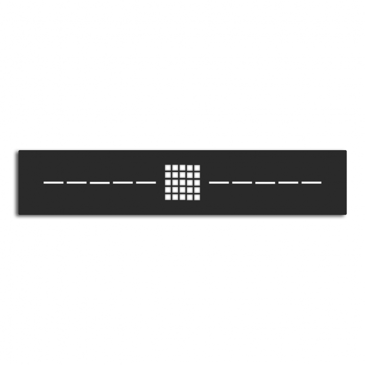 Grille Gneis Noir Anthracite