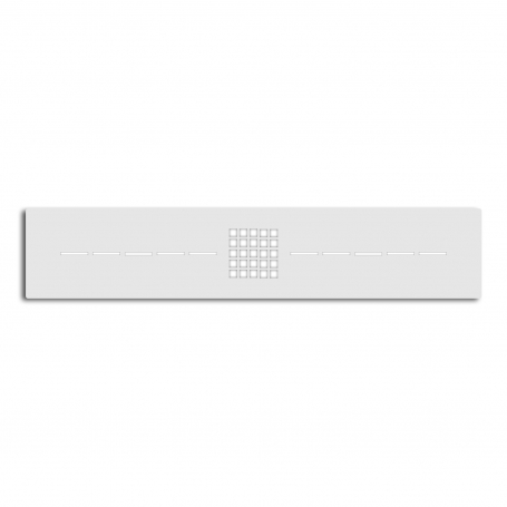 Grille Gneis Blanc Mat Taille S
